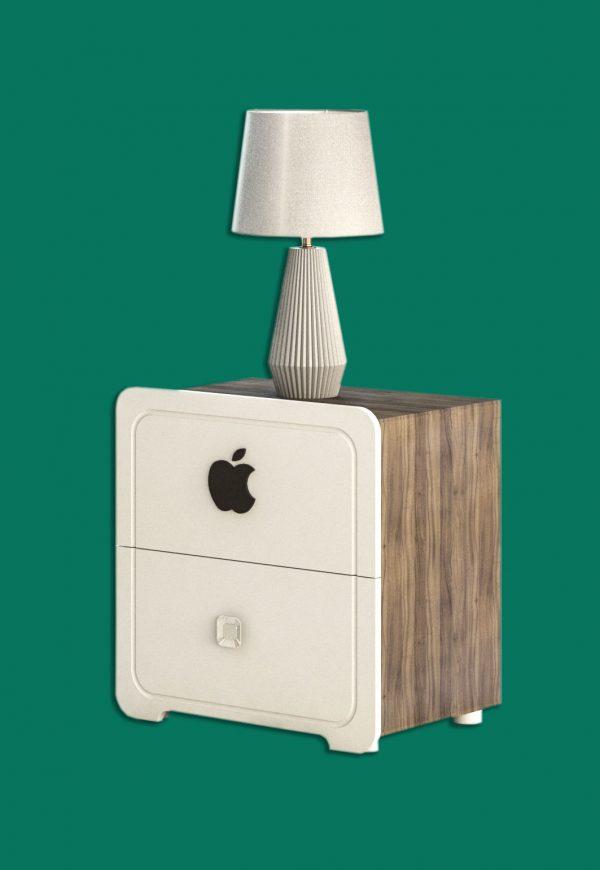 پاتختی سرویس چوب اپل